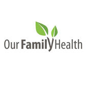 Our Family Health logo Square