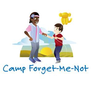 Camp_ForgetMeNot branding