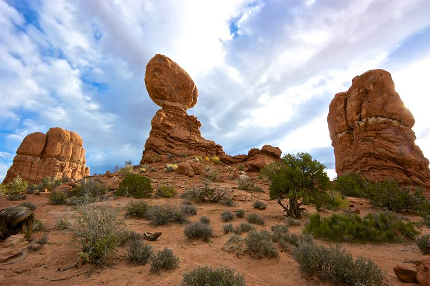 balanced rock healthy trail guides intermountain live well