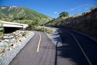 The Big Cottonwood Canyon Trail near the Wasatch Blvd underpass