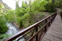 The first bridge over American Fork River