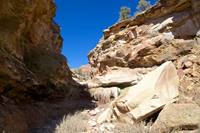 The Huber Wash dryfall