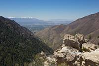 The view from the Salt Lake Valley Overlook