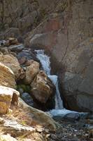 One of dozens of waterfalls in Stairs Gulch