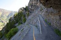 Near the top of the Timpanogos Cave Trail