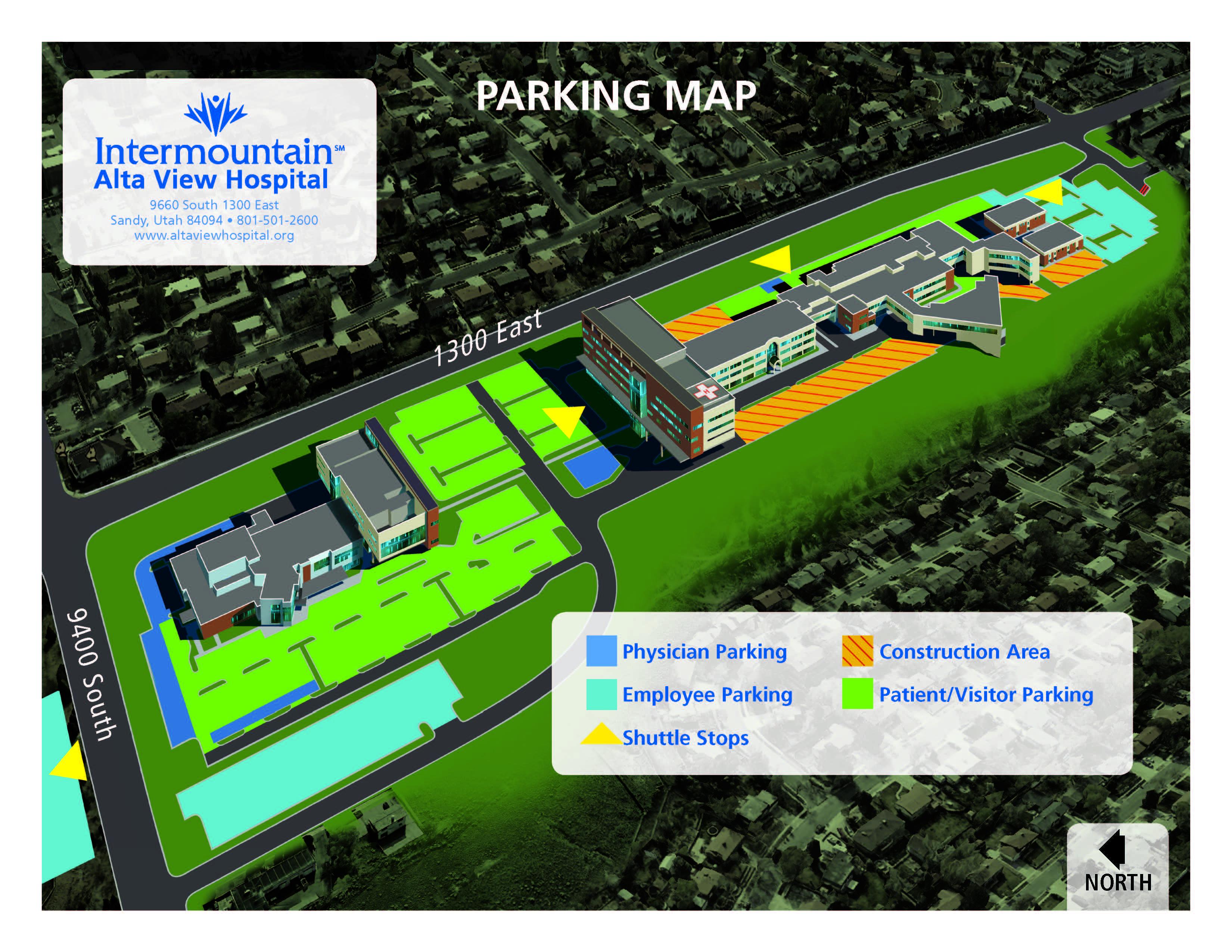 Parking Changes | Alta View Hospital
