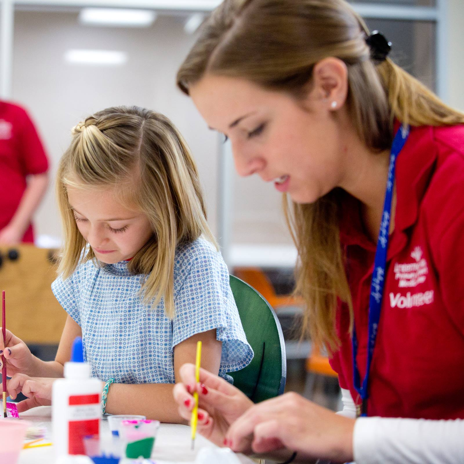 child life specialist Child life specialists help your child cope with stress and anxiety through play and education.