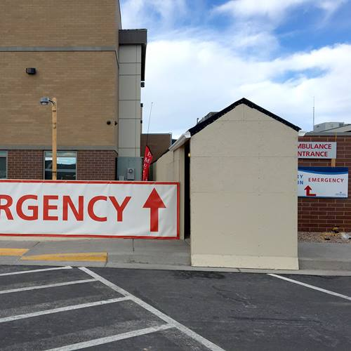 Sevier Valley Hospital Emergency Department entrance change