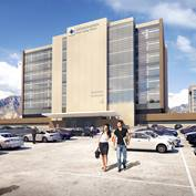 The new Multi-Specialty Outpatient Tower (the Utah Valley Clinic) will house a number of outpatient services