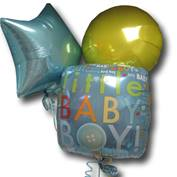 balloons for a baby boy