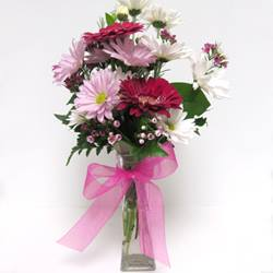 tall flower arrangement available for purchase at the gift shop