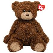 shaggy teddy bear available for purchase at the gift shop