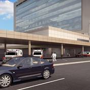 Utah Valley Regional Hospital Replacement Rendering - Ambulance Entrance
