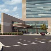 Utah Valley Regional Hospital Replacement Rendering - Main Entrance