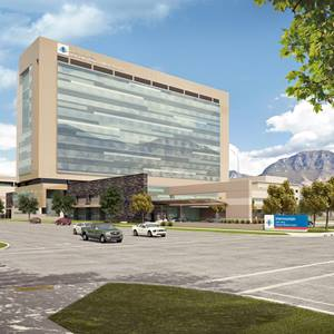 Utah Valley Regional Hospital Replacement Rendering - Patient Tower