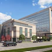 Utah Valley Regional Hospital Replacement Rendering - West Building and Patient Tower