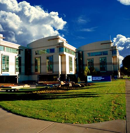 Utah Valley Hospital (formerly Utah Valley Regional Medical Center) in Provo, Utah