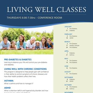 Living Well Flyer