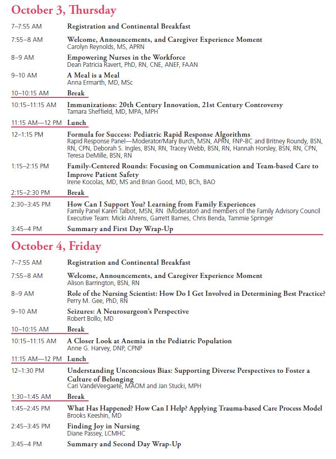 Issues in Pediatric Care Conference | Primary Children's