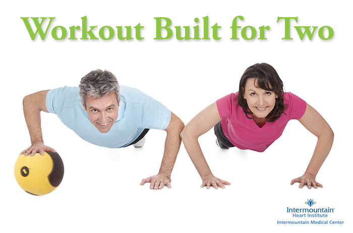 Two Person Medicine Ball Workout
