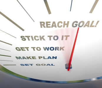 how to make a goal a reality