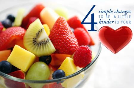 4 Simple Changes To Be A Little Kinder To Your Heart