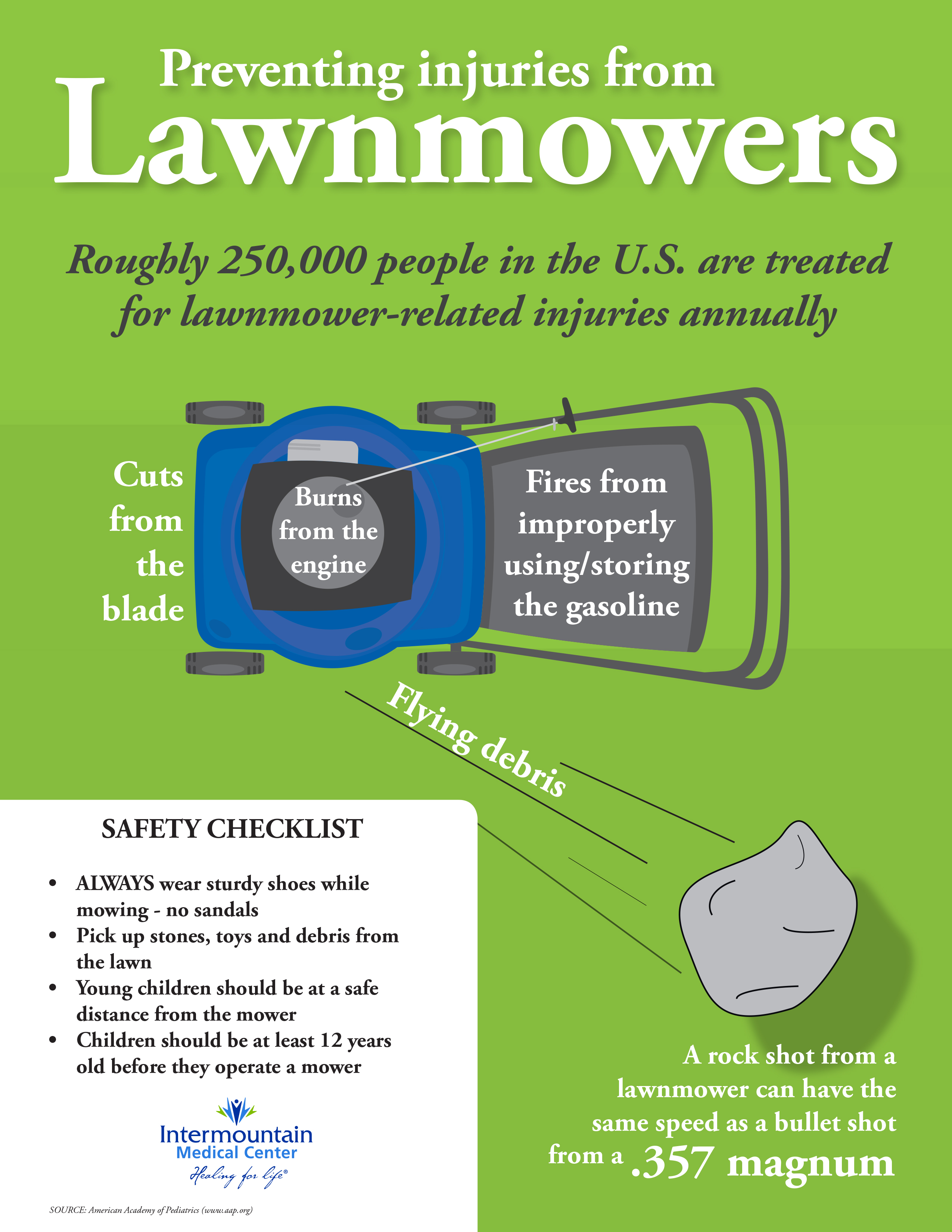 Lawn Tractor Safety : Prevent lawnmower injuries