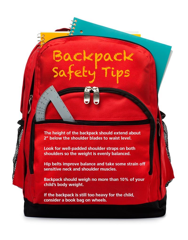 70c56377a7de Backpack Safety Tips