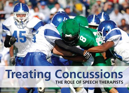The role of speech therapists in treating concussions