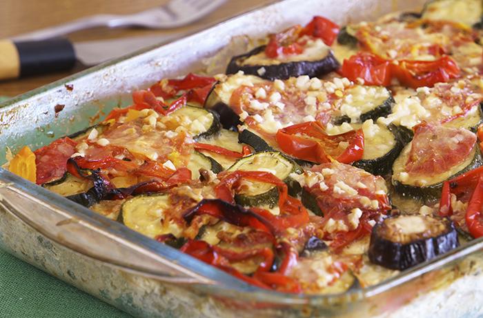 heart healthy recipe summer vegetable gratin