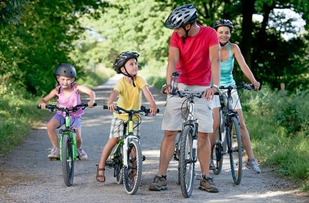 family-biking-trail-heart-health