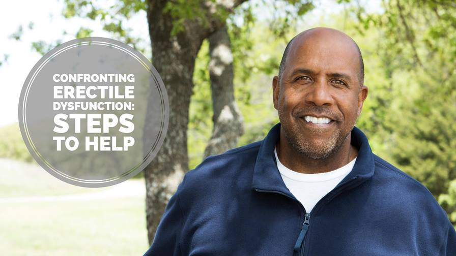 Confronting Erectile Dysfunction (ED): Steps to Help