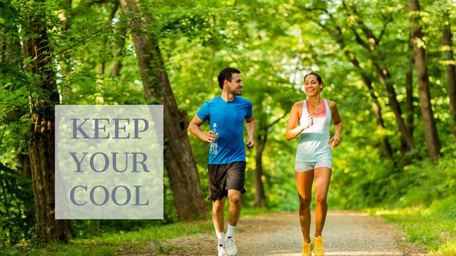 Keep Your Cool When Running in the Summer Sun