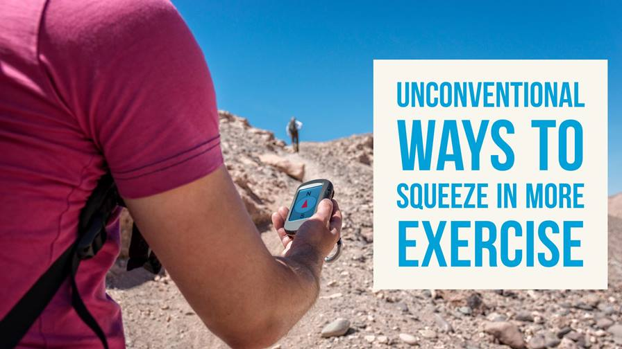 7 Unconventional Ways to Squeeze in More Exercise