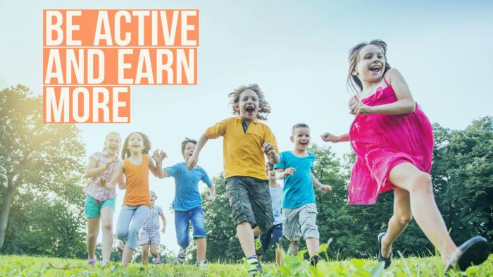 Active kids earn more blog