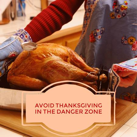 Avoid food poisoning and contamination this Thanksgiving with proper food handling and preparation tips.
