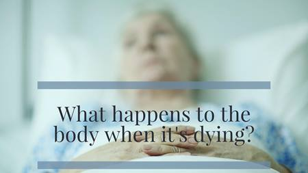 Dying of natural causes is a process. There are signs along the way as our bodies give up their hold on life. Recognizing those changes may help prepare those who are left behind for the passing of their loved one.