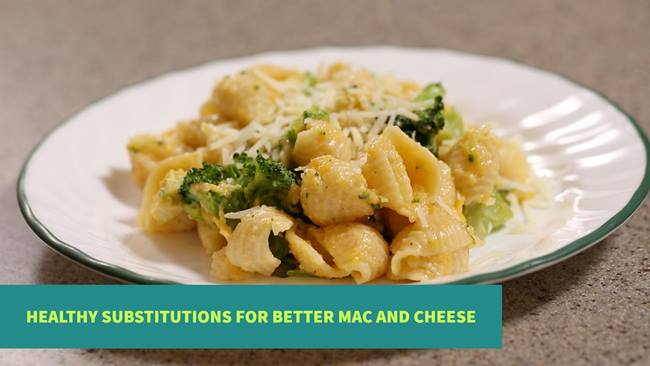 Make Better Macaroni and Cheese with Healthy Substitutions. Get the Full Recipe | Intermountain Healthcare Blogs