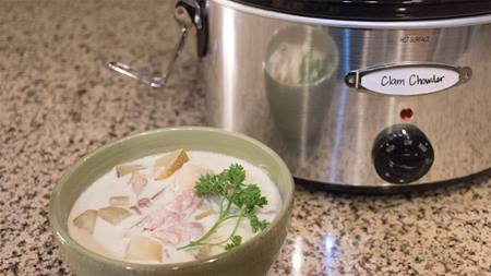Homemade Clam Chowder Recipe