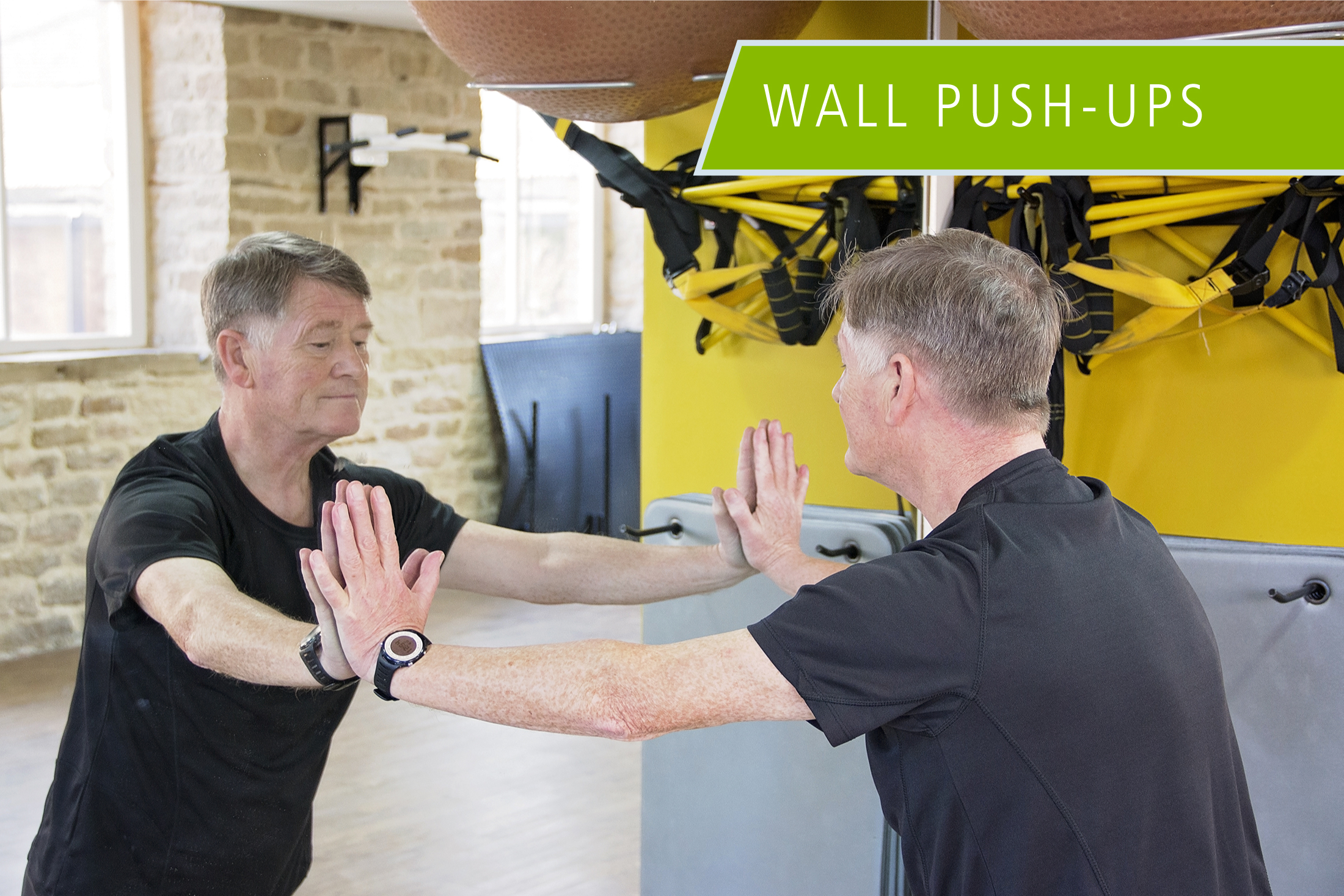 Wall Push-ups Exercise