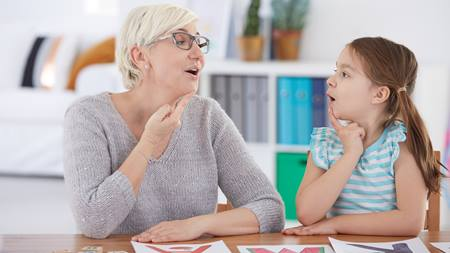 Speech therapy for your child