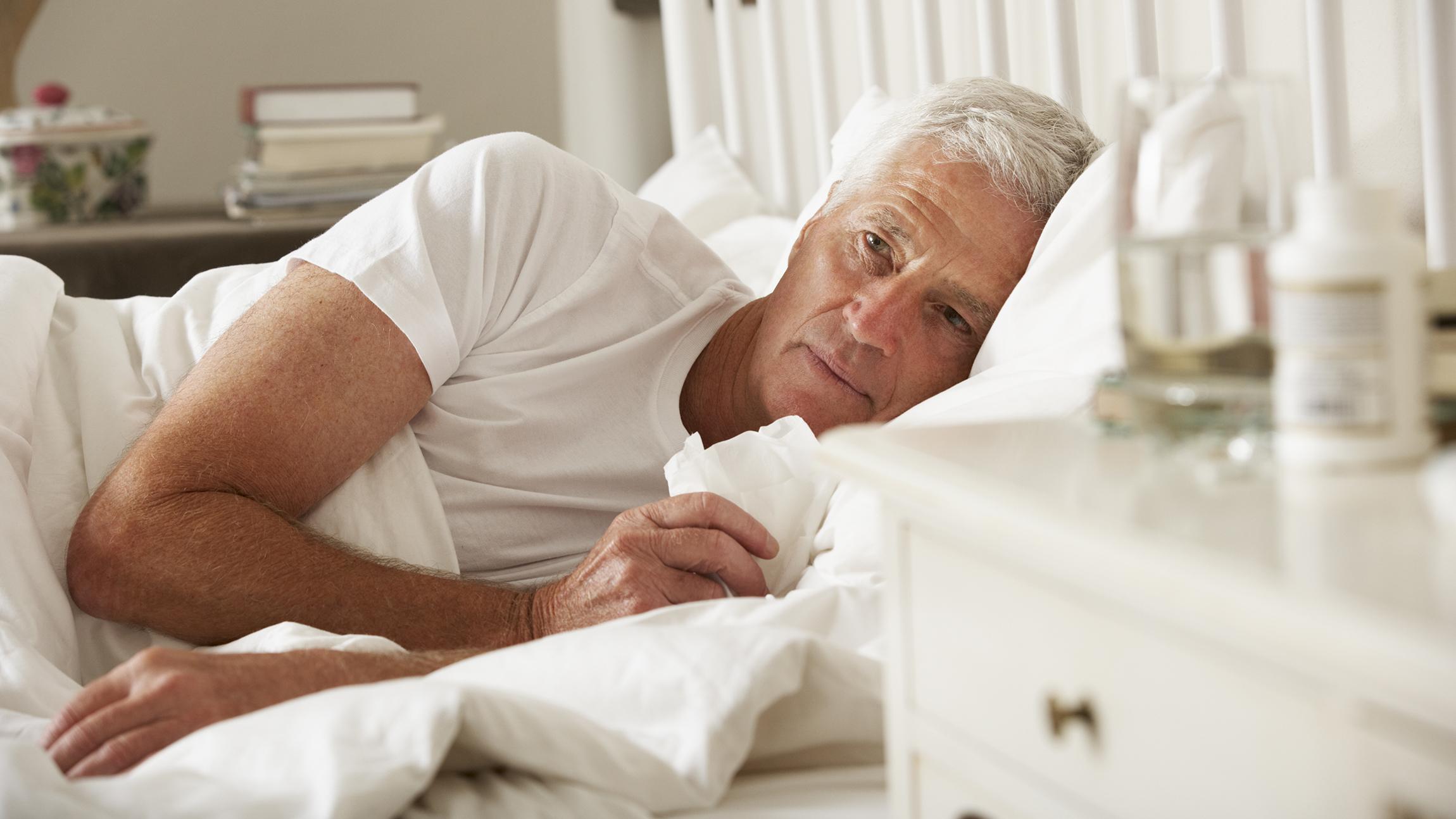 pneumonia adults older Walking in