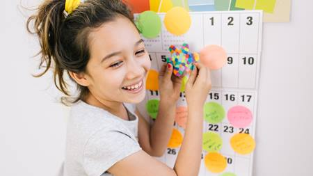 Setting a regular schedule for your kids during the summer