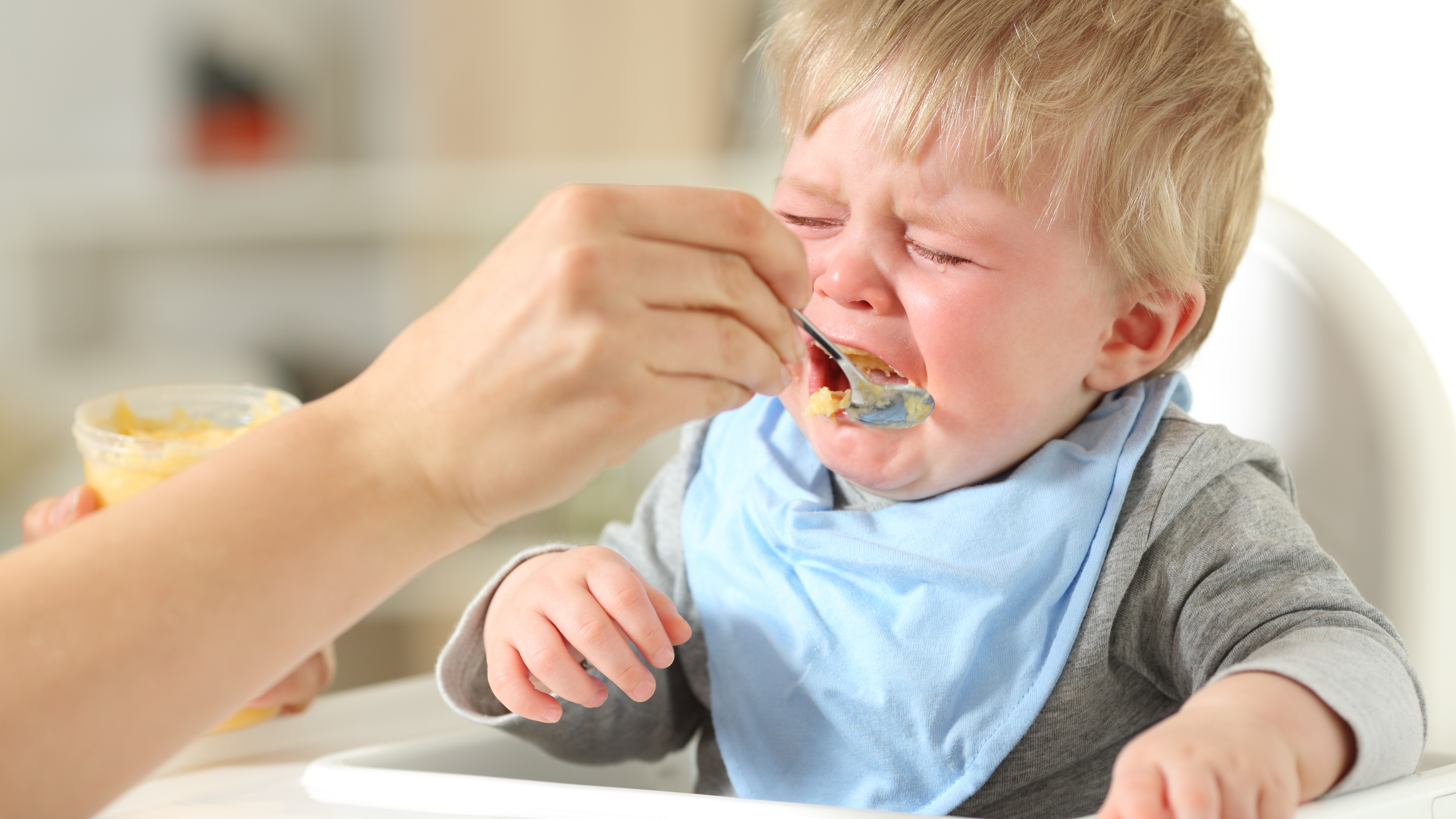 Why does the child not eat well