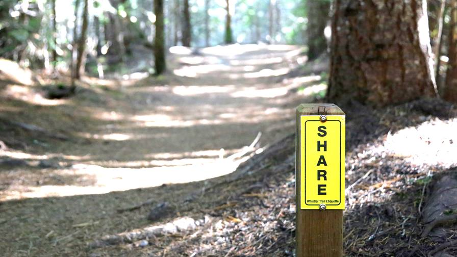 4 rules of trail etiquette