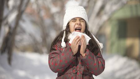 Teaching your kids sick weather health habits