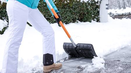 Snow Shovel Safety
