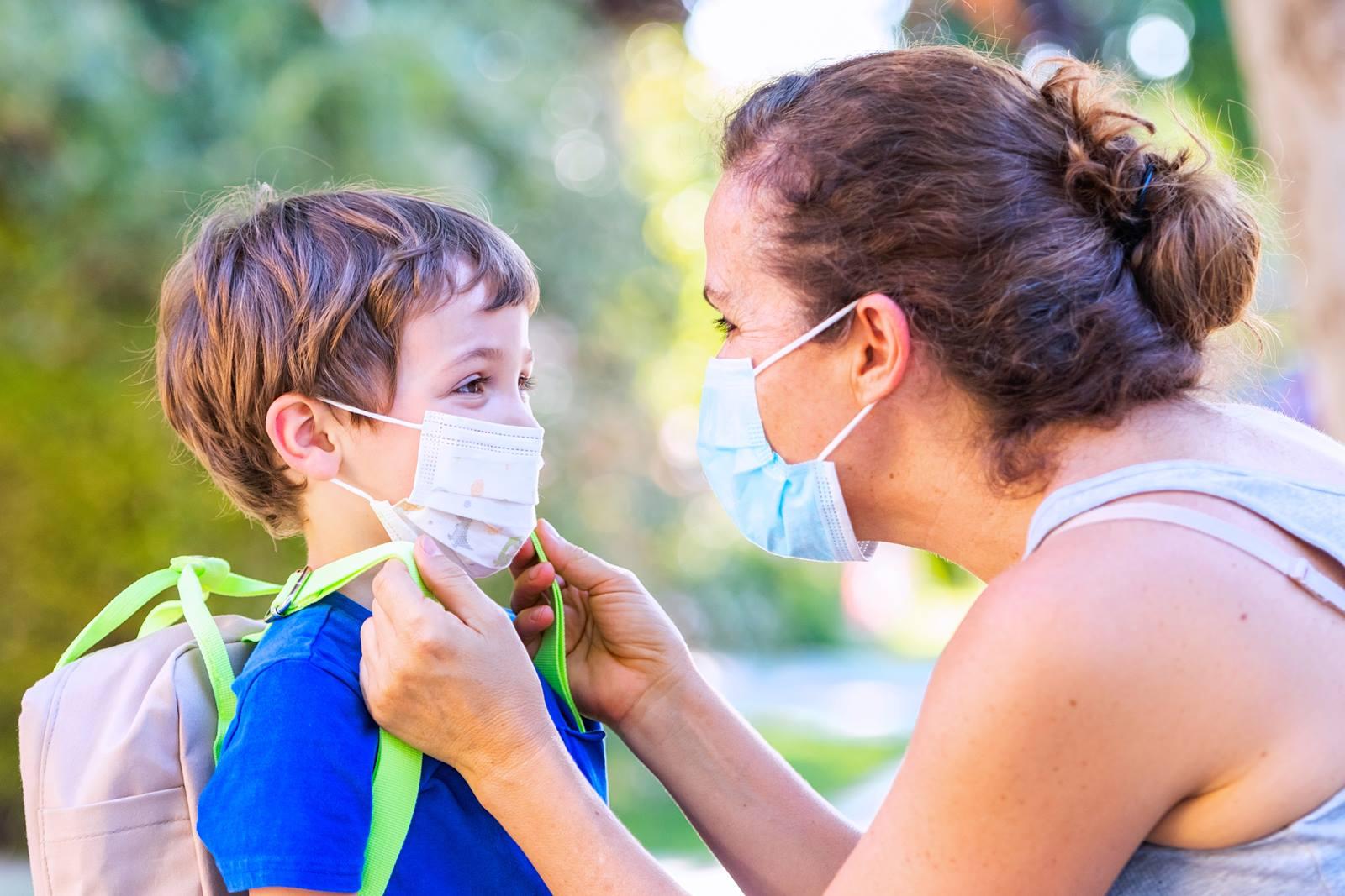 How to help kids adjust to wearing a mask