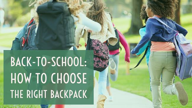 How to Choose the School Backpack