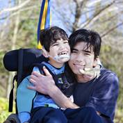 Disabled-Boy-With-Brother